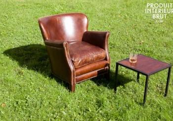 Fauteuil club de la sélection de meubles d'inspiration vintage de Produit Intérieur Brut