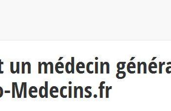 Info-medecins.fr regroupe plusieurs centaines de médecins généralistes en région PACA