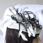 Retrouvez chez Acces Soirs de magnifiques bibis blancs, bleus ou noirs pour sublimer votre look