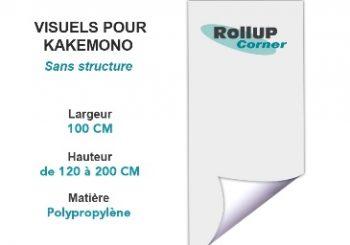 Rollup Corner : vente et impression en ligne de kakémonos, totems, rollups…