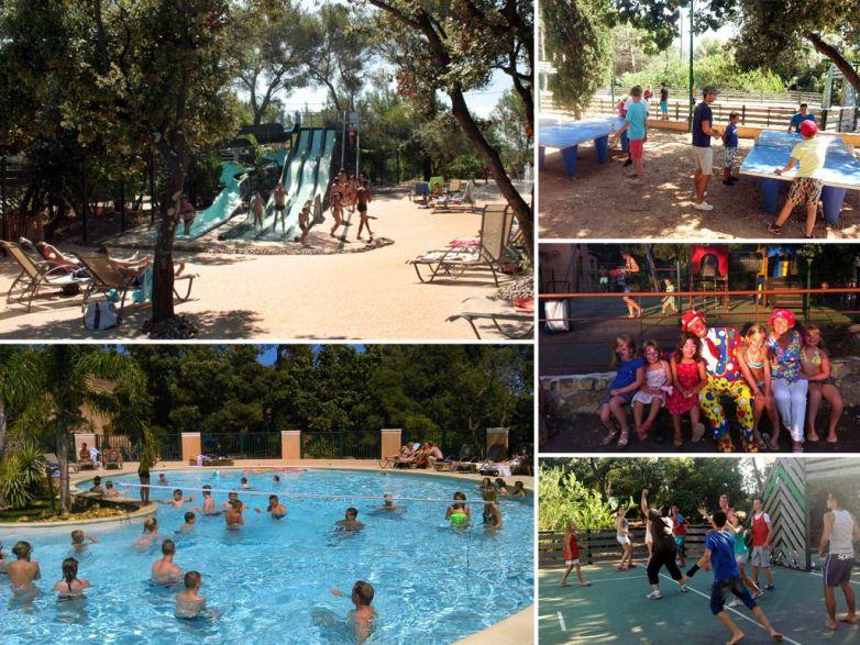La Pascalinette, le camping et parc aquatique du Var proche des plages