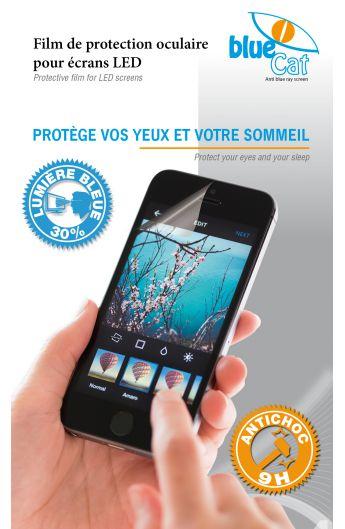 Une protection en verre trempé pour iphone 7, tout à la fois anti lumière bleue et anti chocs !